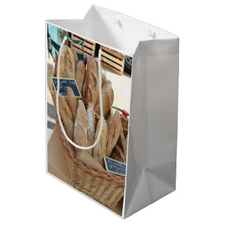 French bread by ProvenceProvence Medium Gift Bag