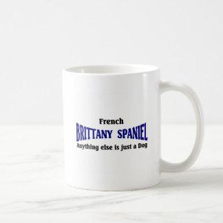 French Brittany Spaniel Dog Basic White Mug