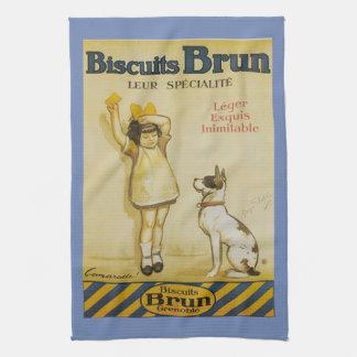 French Brun Vintage Kitchen Towel
