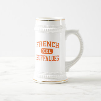 French - Buffaloes - High School - Beaumont Texas Beer Steins