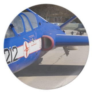 French Built Fouga Magister trainer Plate