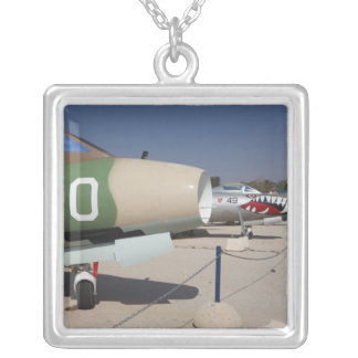 French-built Mystere fighter Silver Plated Necklace