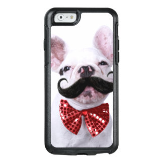 French Bull Dog Puppy With Mustache OtterBox iPhone 6/6s Case