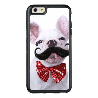 French Bull Dog Puppy With Mustache OtterBox iPhone 6/6s Plus Case