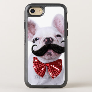 French Bull Dog Puppy With Mustache OtterBox Symmetry iPhone 8/7 Case