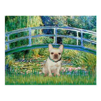 French Bulldog 1 - Bridge Postcard