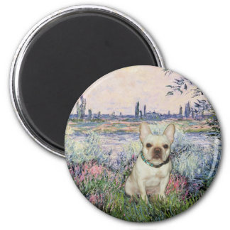 French Bulldog 1 - By the Seine Magnet