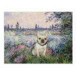 French Bulldog 1 - By the Seine Postcard