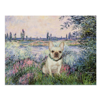 French Bulldog 1 - By the Seine Postcard