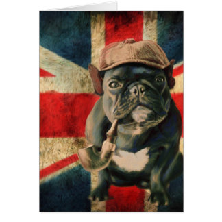 French Bulldog 2 Greeting Card