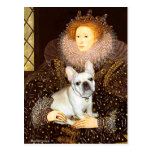 French Bulldog 3 - Queen Postcard