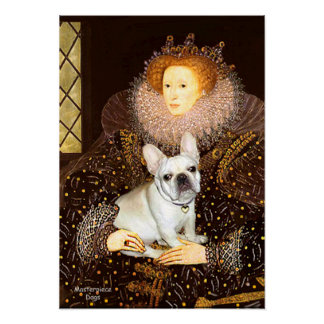French Bulldog 3 - Queen Poster