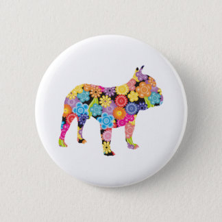 French Bulldog 6 Cm Round Badge