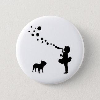 French Bulldog 6 Cm Round Badge