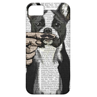 French Bulldog and Finger Moustache iPhone 5 Covers