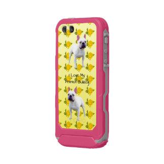French Bulldog and yellow roses Incipio ATLAS ID™ iPhone 5 Case