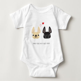 French Bulldog Apparel Baby Bodysuit