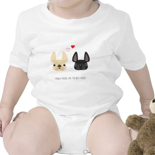French Bulldog Apparel Baby Bodysuits