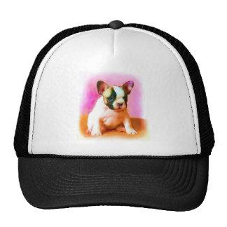 French Bulldog Art cap Mesh Hats
