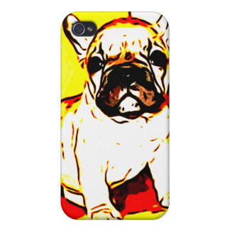 French Bulldog Art Cases For iPhone 4