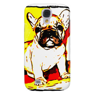 French Bulldog Art Galaxy S4 Case