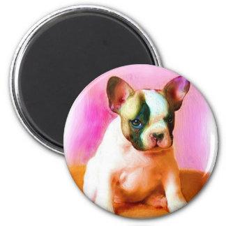French Bulldog Art Magnet