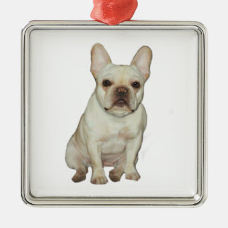 French  Bulldog (B) - fawn Christmas Ornament