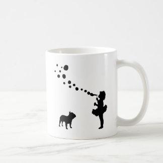 French Bulldog Basic White Mug
