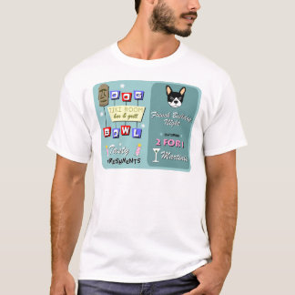 French Bulldog Bowling Night T-Shirt