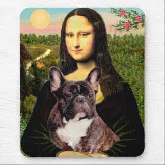 French Bulldog br10 - Mona Lisa Mouse Mat