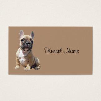 French Bulldog Breeder Business Card