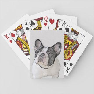 French Bulldog (Brindle Pied) Playing Cards