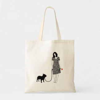 French Bulldog Budget Tote Bag