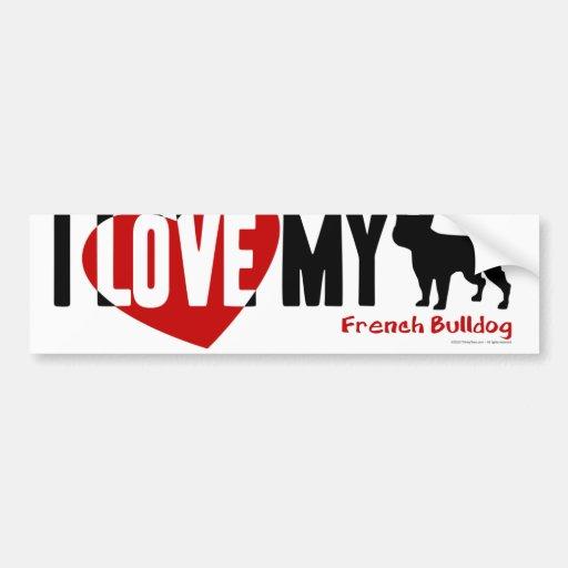 French Bulldog Bumper Stickers