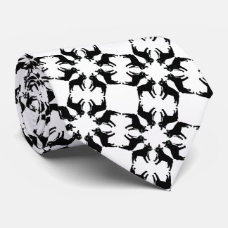 French Bulldog bw Tie