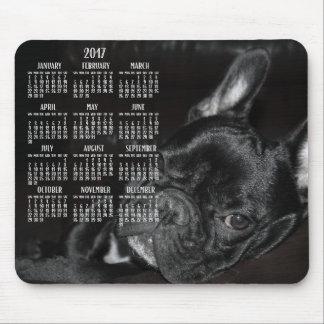 French Bulldog Calendar 2017 Mouse Pad