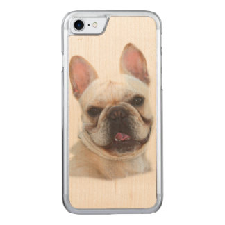 French Bulldog Carved iPhone 8/7 Case