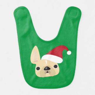 French Bulldog Christmas Bib
