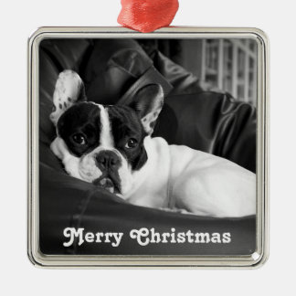 French Bulldog Christmas Ornament Personalized