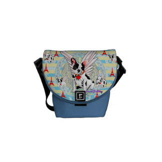 French Bulldog Courier Bag