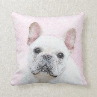 French Bulldog (Cream/White) Cushion