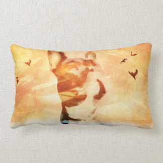 French bulldog cussion lumbar cushion