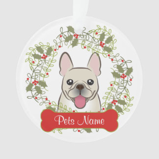 French Bulldog Customizable Ornament