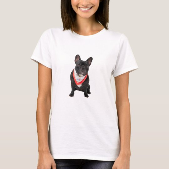 French Bulldog cute beautiful photo womens t-shirt