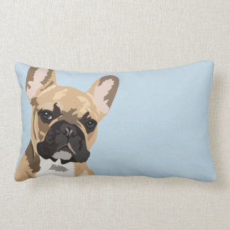 French Bulldog | Cute Frenchie Double Sided Lumbar Cushion