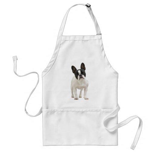 French Bulldog cute photo apron, gift idea
