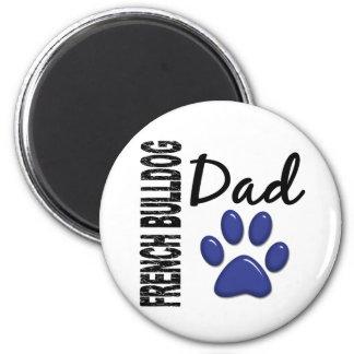 French Bulldog Dad 2 Fridge Magnets