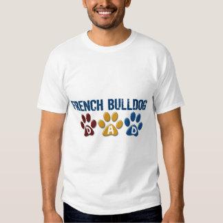 FRENCH BULLDOG Dad Paw Print 1 T Shirt
