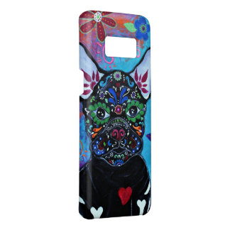 French Bulldog Day of the Dead Case-Mate Samsung Galaxy S8 Case
