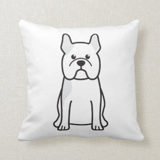 French Bulldog Dog Cartoon Cushion